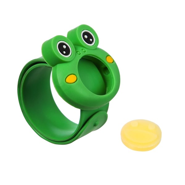 Child's Click Slap Frog Mosquito Repellent Bracelet