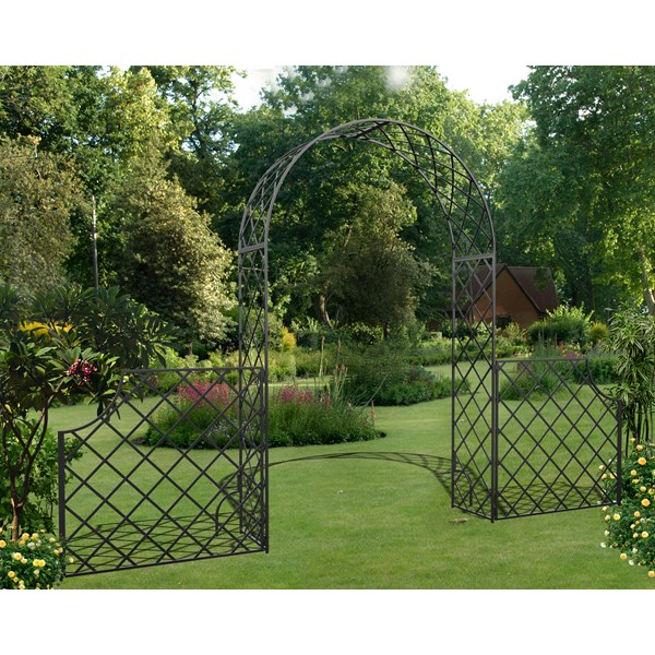 Bagatelle Garden Arch with Low Fence