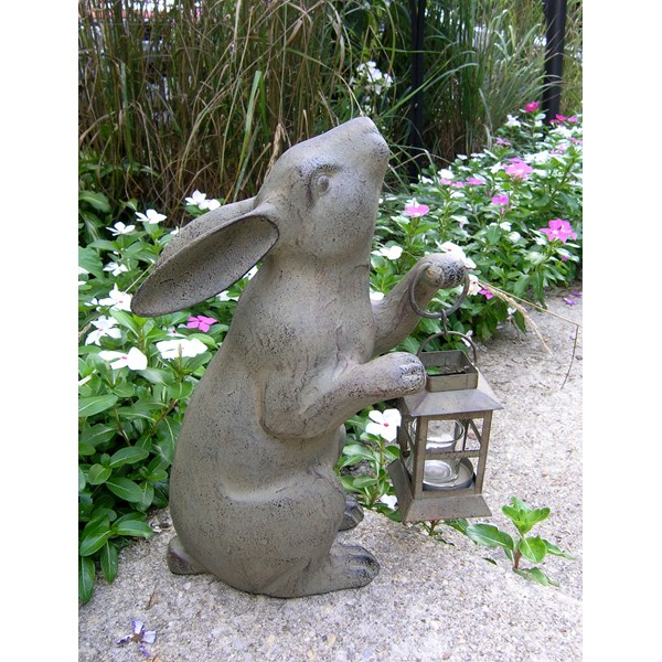 Standing Rabbit Candle Lantern