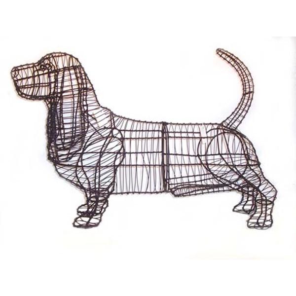 Topiary Dog Frames Labrador Retriever Garden Topiary FrameScottie ...
