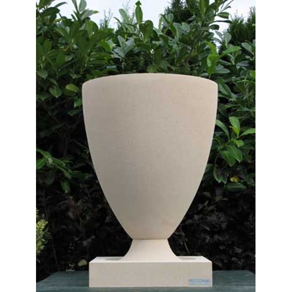 Frank Lloyd Wright American Systems Built Vase - Creme