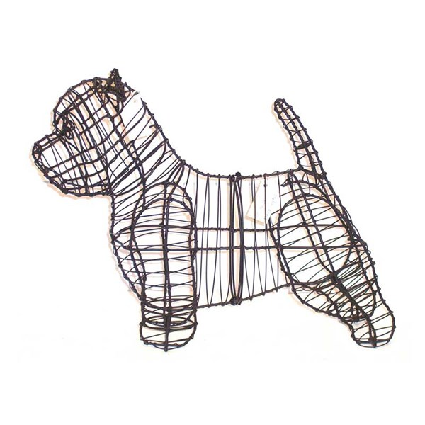 Westie Topiary Frame