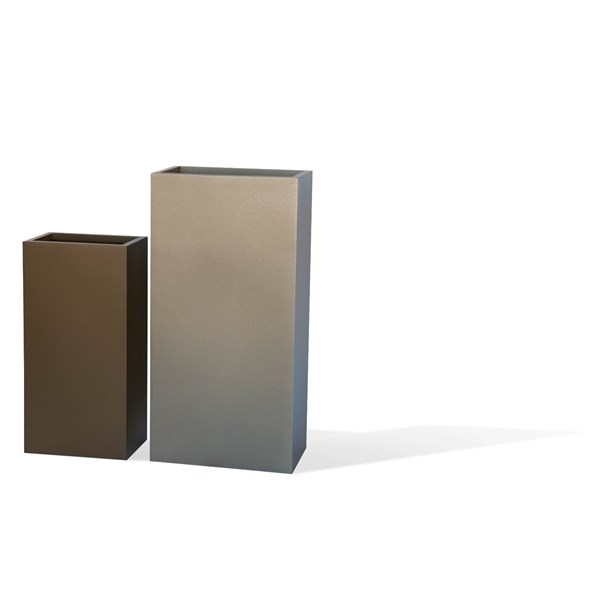 Bar - tall rectangular planters